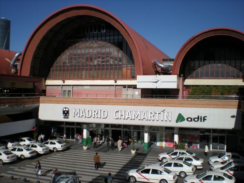 Вокзала Чамартин (Estación de Chamartín)