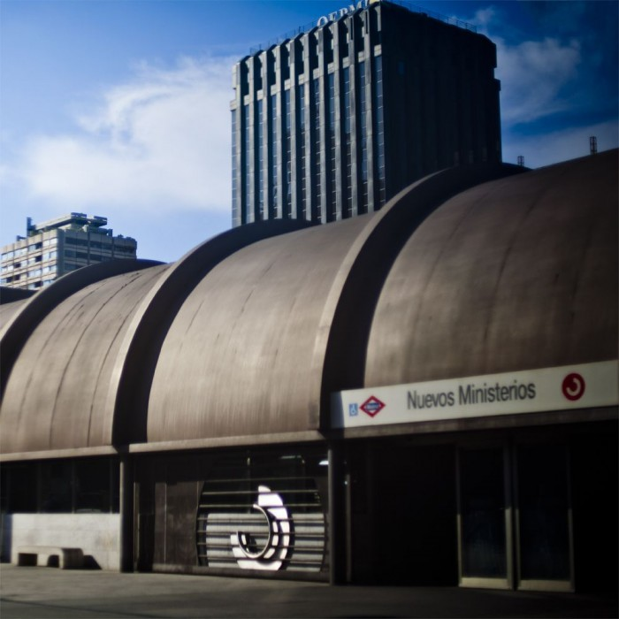 Станция метро Нуэвос Министериос (Nuevos-Ministerios)