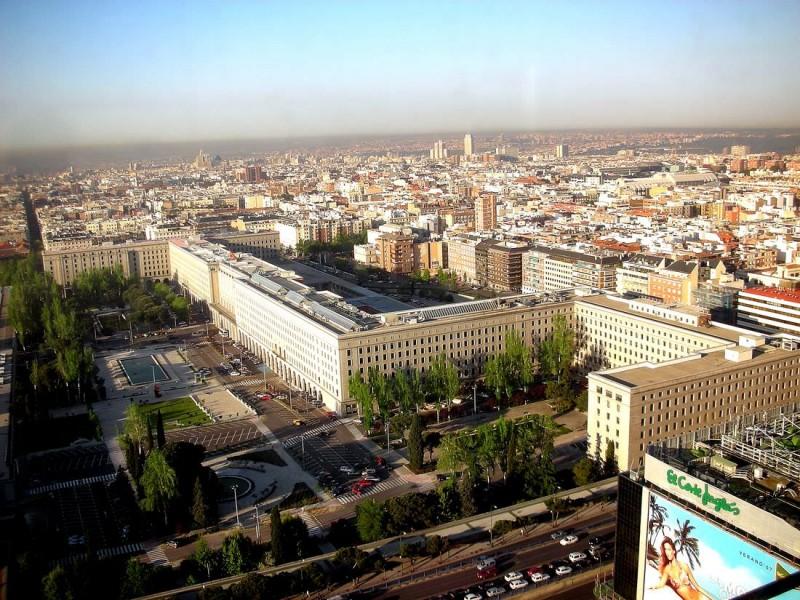 Здание министерства (Nuevos-Ministerios)