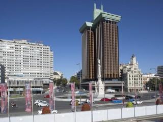 Площадь Колумба в Мадриде