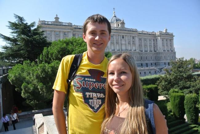 Вокруг Королевского дворца в Мадриде (Мой фото отчет) 39