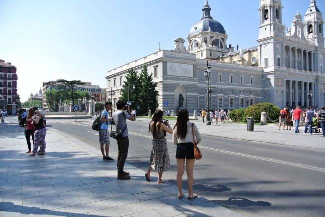 Вокруг Королевского дворца в Мадриде (Мой фото отчет) 44
