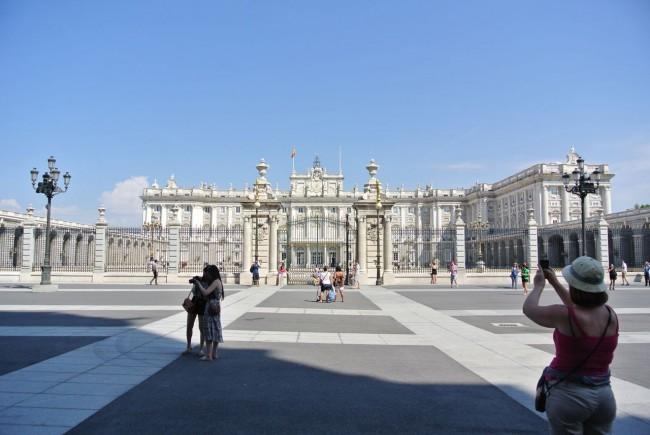 Вокруг Королевского дворца в Мадриде (Мой фото отчет) 45