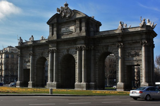 Ворота Алькала (Puerta de Alcala)