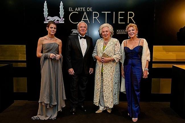 Выставка ювелирных изделий «Искусство Картье» (El arte de Cartier)