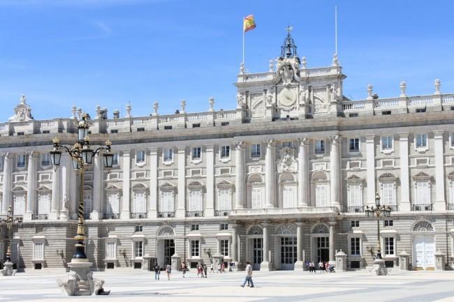 Королевский дворец в Мадриде (исп. Palacio Real de Madrid)