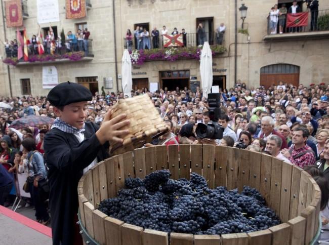 Вендимия в провинции Риоха-Алавеса (Rioja Alavesa)