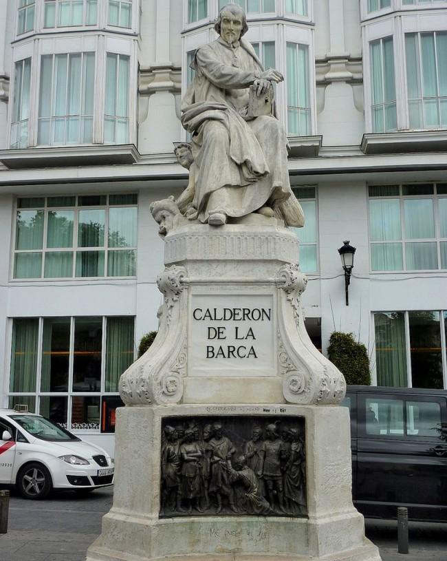 Памятник драматургу Педро Кальдерону де ла Барка