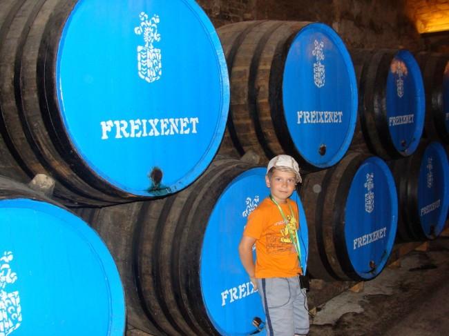 Завод по производству шампанского.