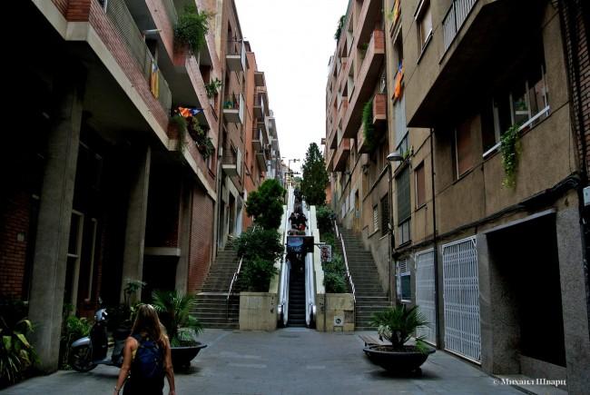 Эскалатор к парку