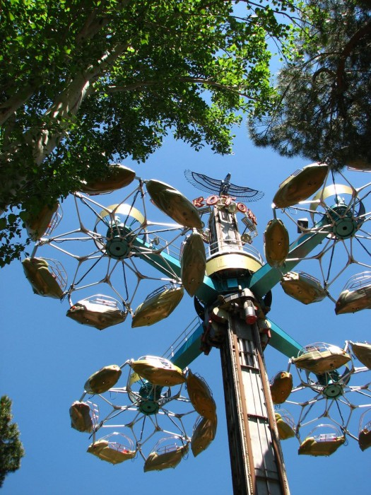 Парк аттракционов (Parque de Atracciones).