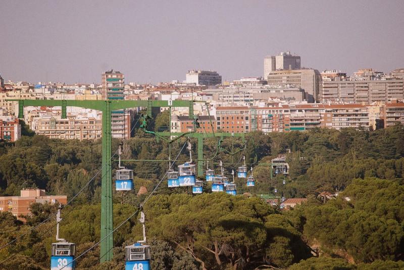 Канатная дорога (Teleférico de Madrid)