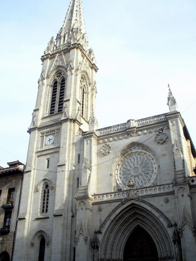 Собор Сантьяго-де Бильбао (Catedral de Santiago de Bilbao).