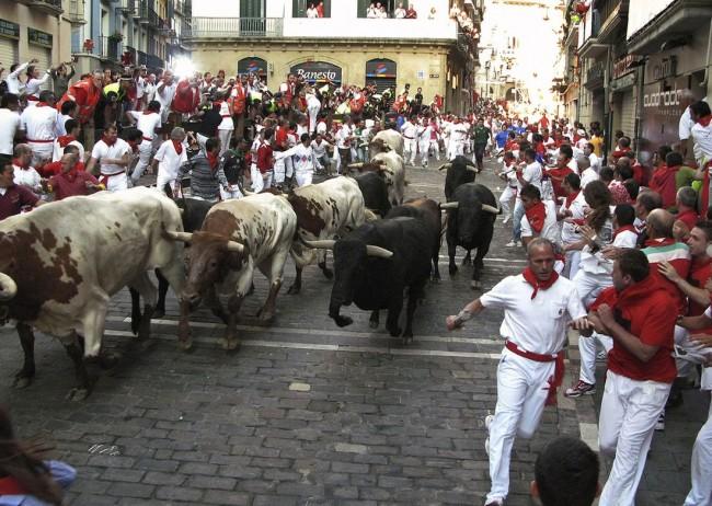 Праздник Cвятого Фермина (San Fermines)