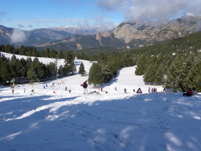 Горнолыжные склоны Каталонских Пиренеев