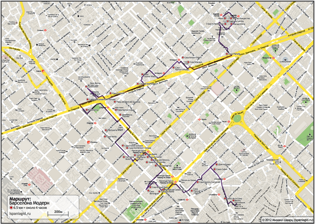 barcelona-map-route-modern