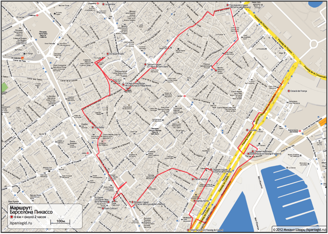 barcelona-map-route-picasso