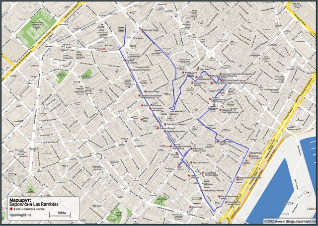 barcelona-map-route-rambla