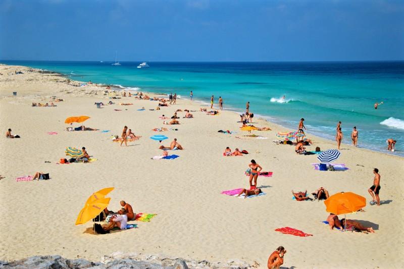 Пляж Platja de ses Illetes