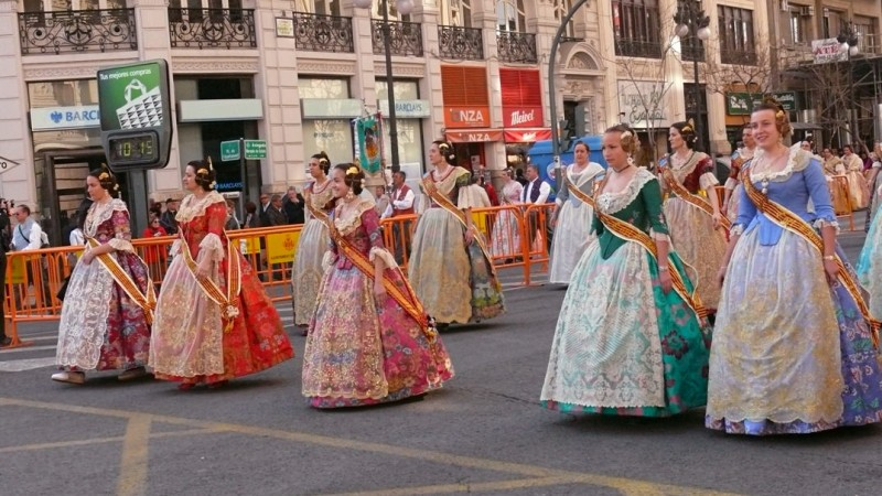 «Праздник огня» в Валенсии (Fallas)