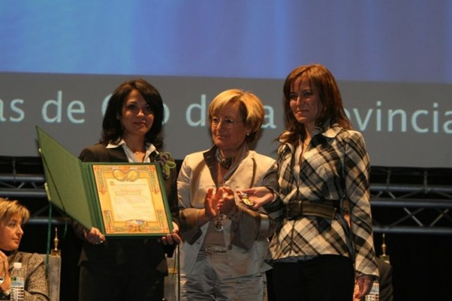На премии Al Andalus de Gastronomía 2013
