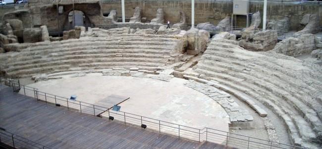 Римский театр в Сарагосе (Teatro Romano)
