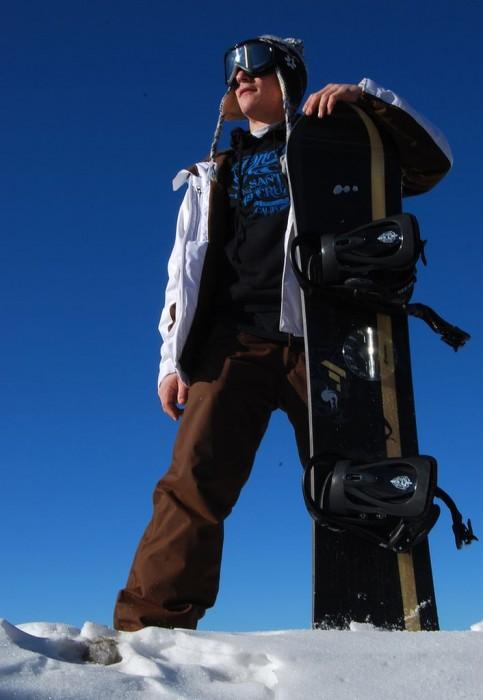 На горных склонах Сьерра Невады