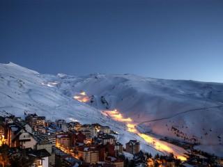 Зимняя сказка в горах Андалусии