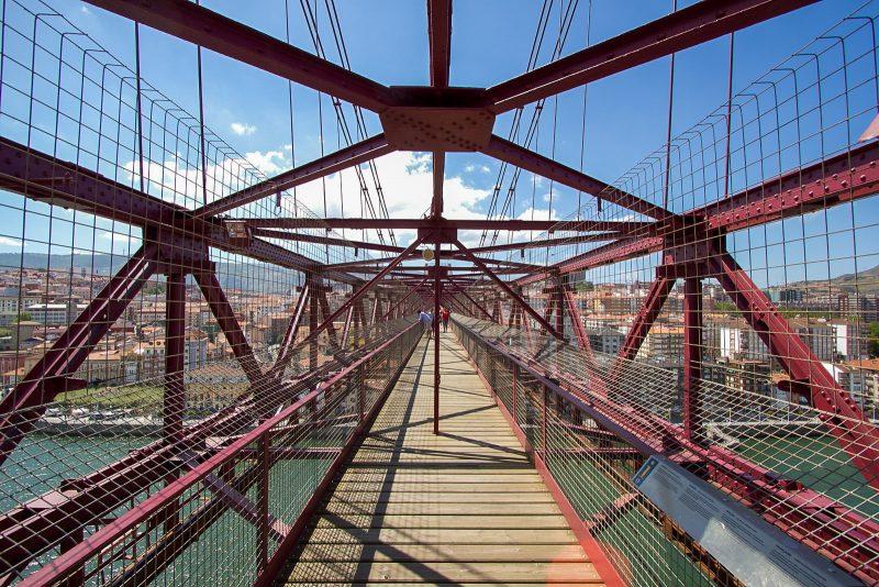 Прогулка по Бискайскому мосту