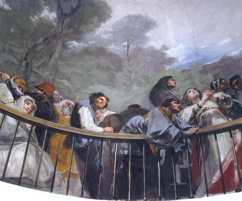 Фрески работы Гойи