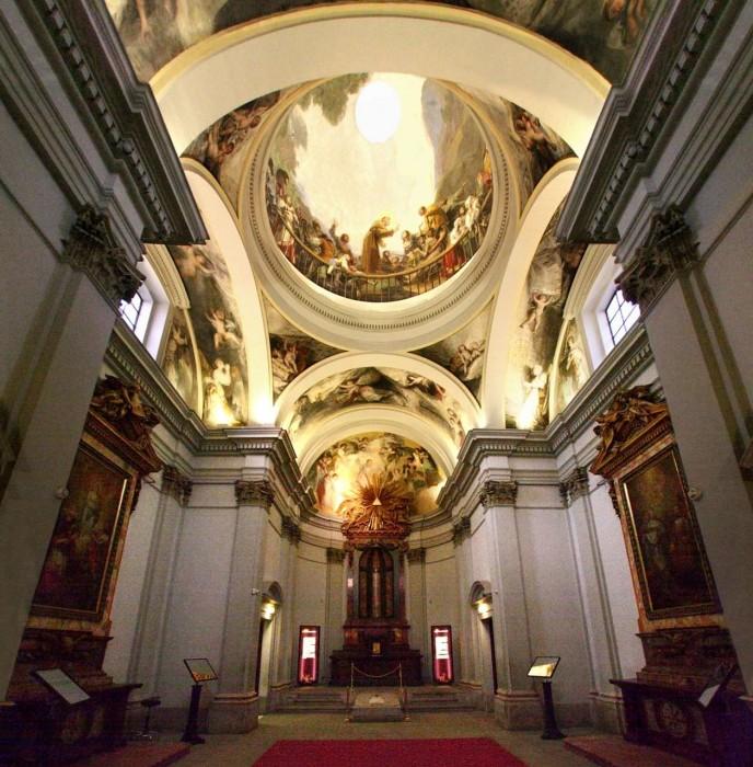 Часовня Святого Антония Флоридского (Ermita de San Antonio de la Florida)