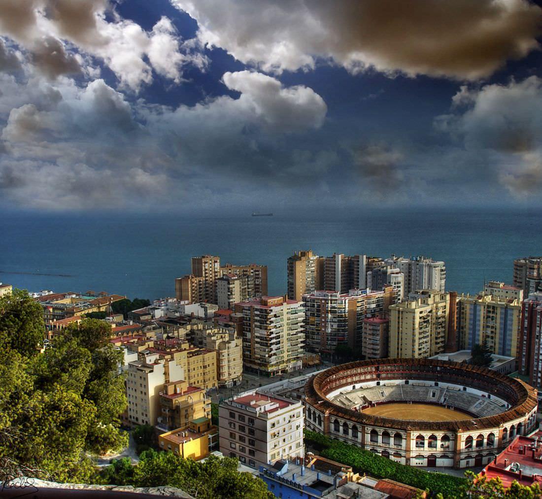 малага фото города пот