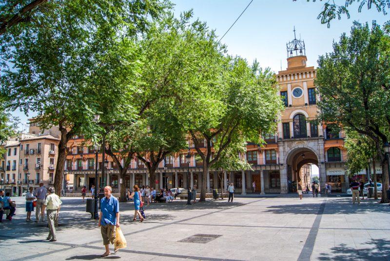 Главная площадь Толедо,