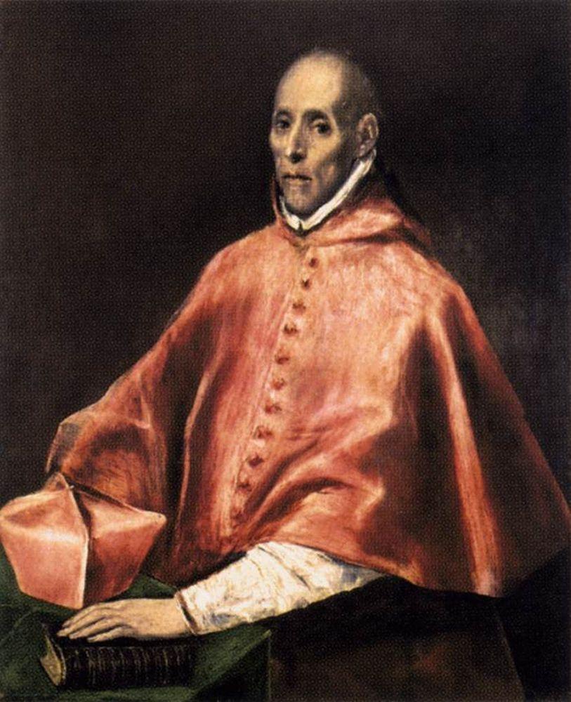 Портрет кардинала Таверы кисти Эль Греко