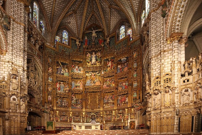 Алтарь Толедского собора
