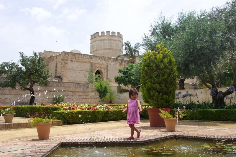 Сад Алькасар (Jardines del Alcázar)