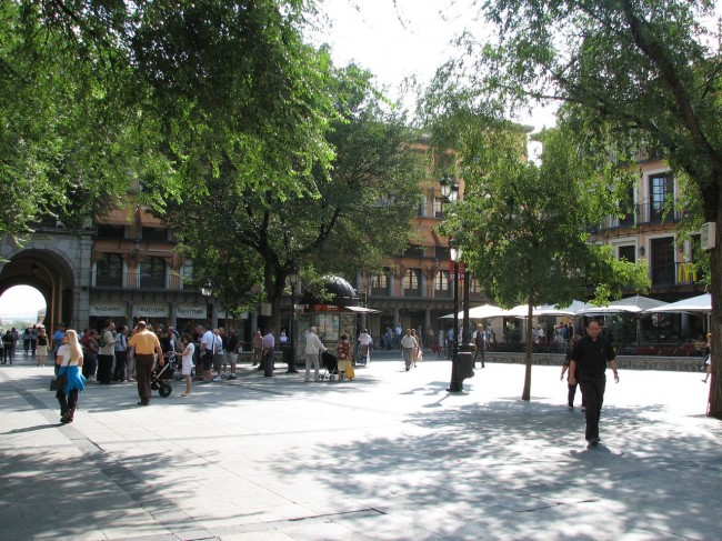 Площадь Сокодовер (Plaza de Zocodover)