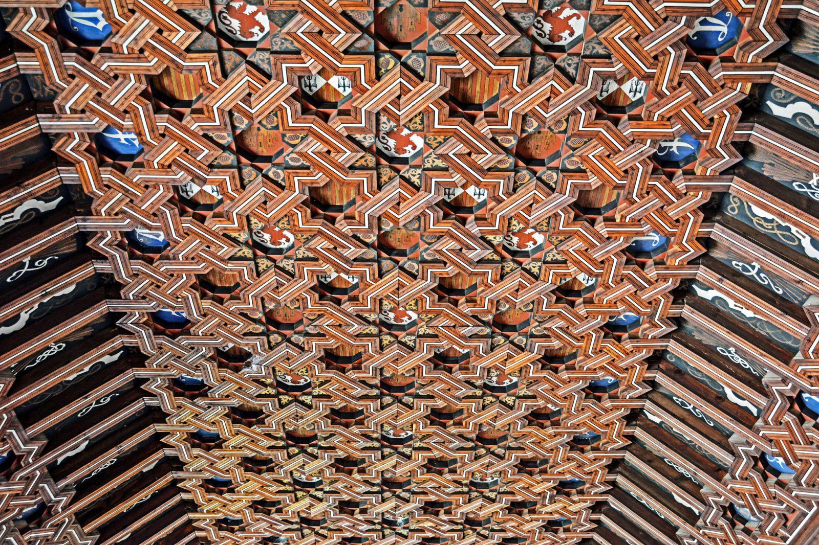 Потолок со звездами