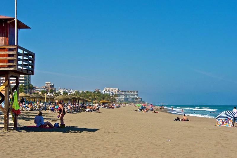 Пляж La Carihuela, Торремолинос