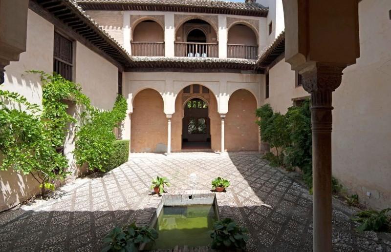 Внутренний двор Дар аль-Орра