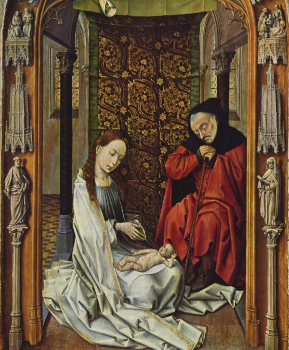 Рогир ван дер Вейден. «Рождество Христово»