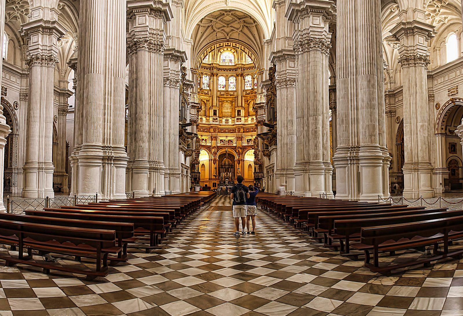 Главный неф Кафедрального собора