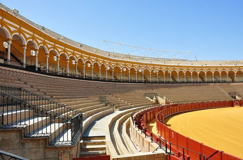 Внутри арены