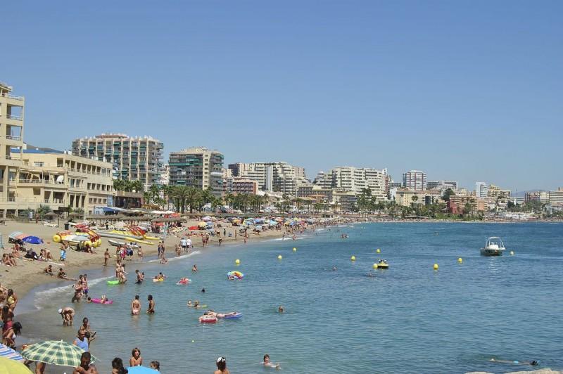 Пляж Бенальмадена