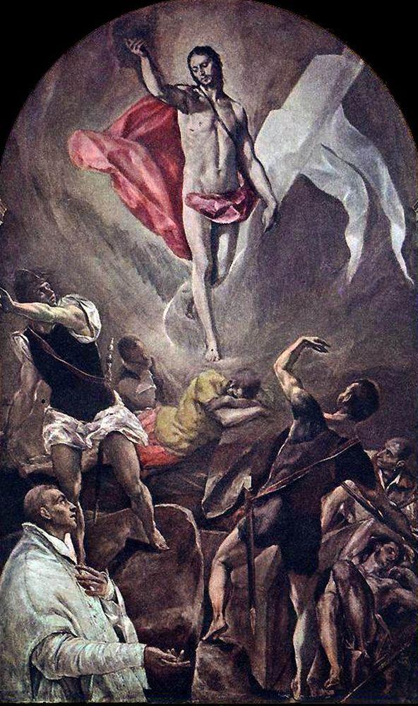 """""""Воскрешение"""" Эль Греко, монастырь Санто-Доминго-эль-Антигуо"""
