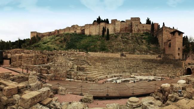 Римский театр (Teatro Romano de Málaga)