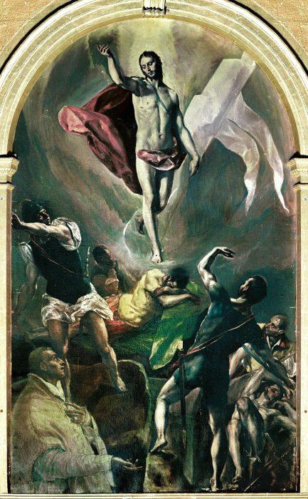 Эль Греко. Воскресение