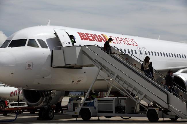 Из Мадрида в Малагу на самолете