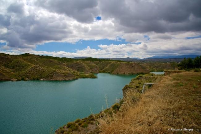 Водохранилище Негратин (Embalse de Negratin)