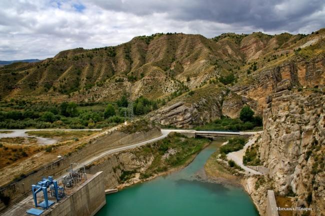 Плотина Негратин (Embalse de Negratin)